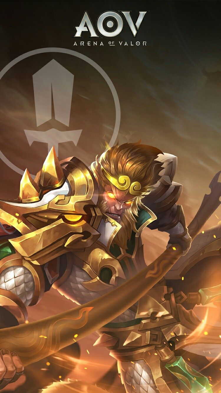 Wukong Arena Of Valor Wallpaper Pinterest Hero Mobile Legends And Game Art