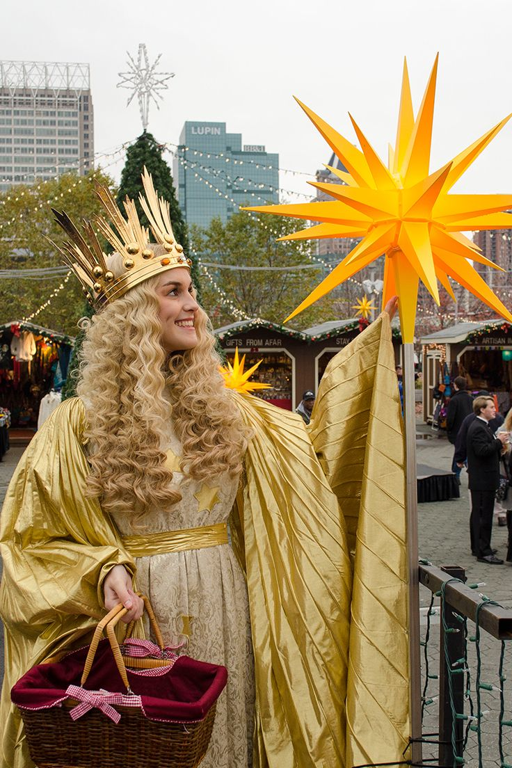 Christmas Village in Baltimore is officially opened by the original ...