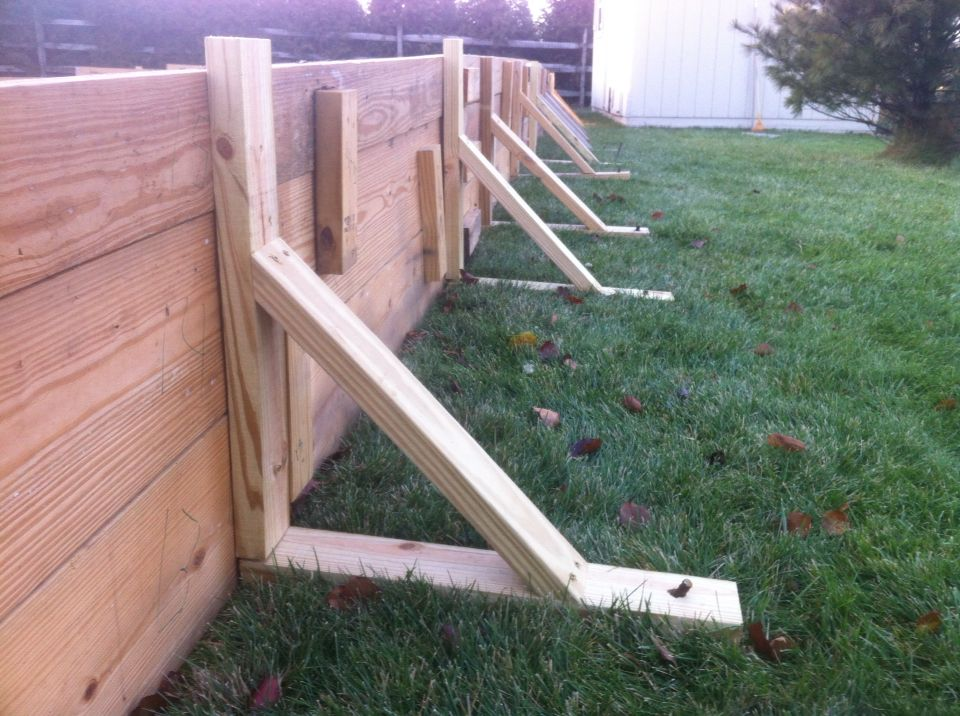 Brackets for ice rink | Backyard ice rink, Ice rink ...