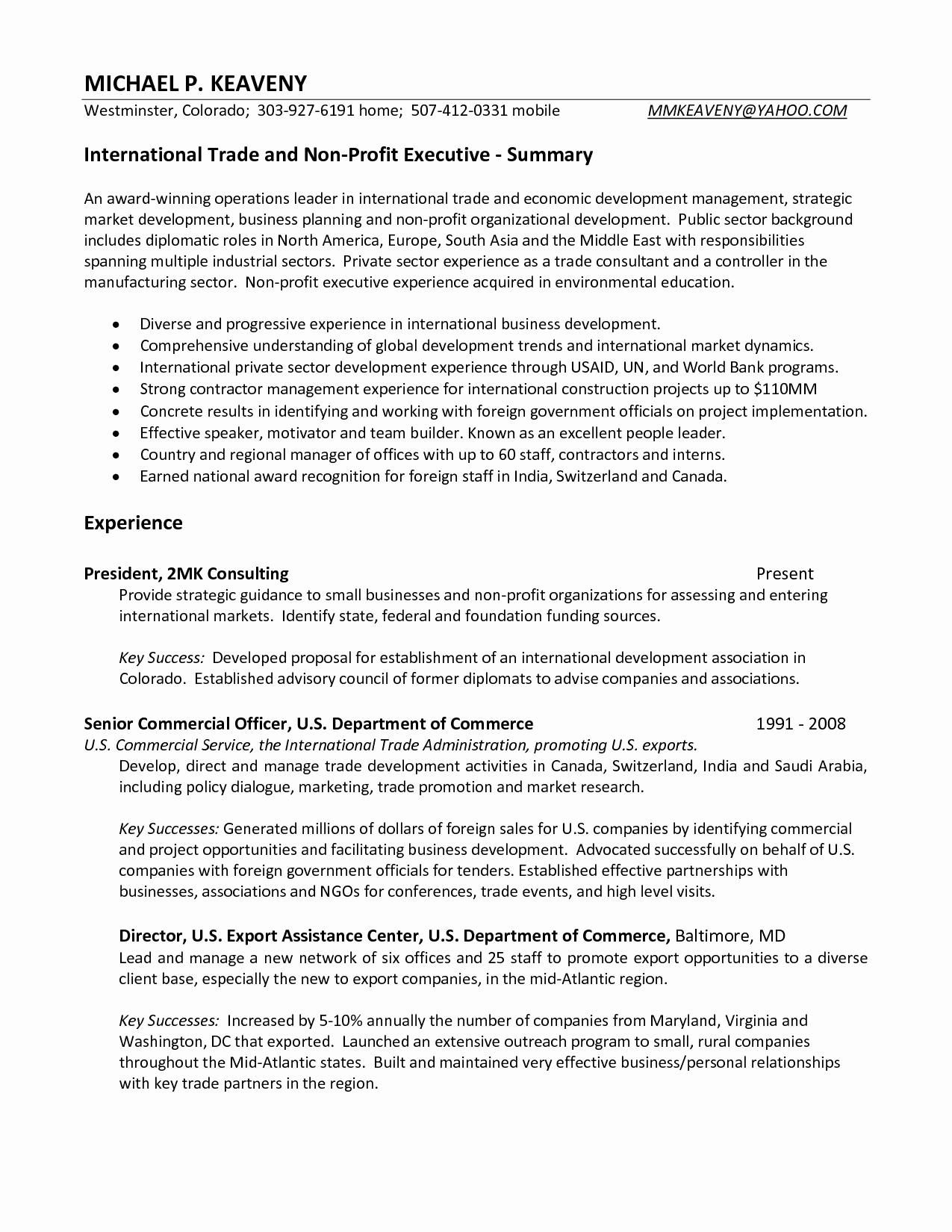 Extensive Resume Sample Extensive Resume Sample Extensive Resume Sample Business Resume Example Marketing Resume Mission Statement Examples Resume Examples