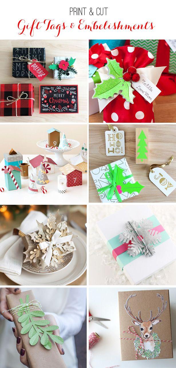 25 Handmade Christmas Craft Ideas With Cricut | Cricut, Holidays and ...