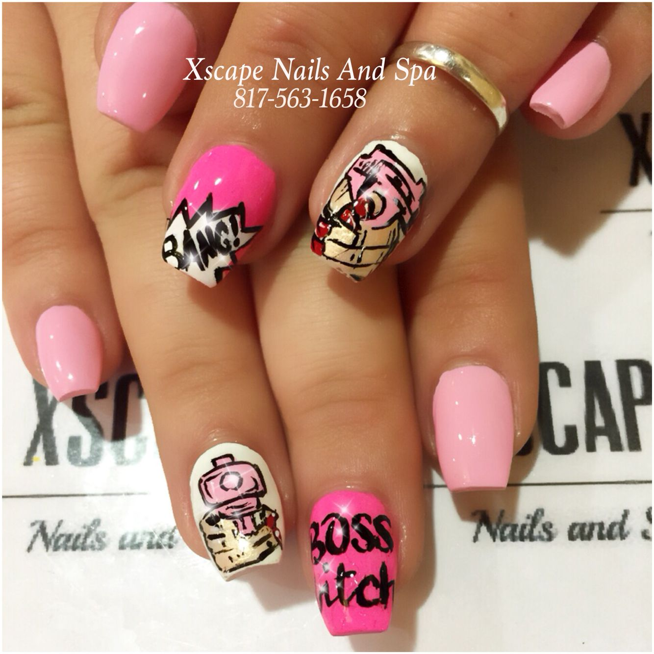 Gangster Nail Designs Cute Nails Designs Pinterest Gangsters