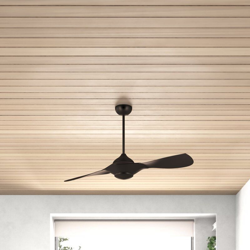 54 Knaus 2 Blade Propeller Ceiling Fan With Remote Control And Light Kit Included In 2020 Ceiling Fan Ceiling Fan With Remote Propeller Ceiling Fan