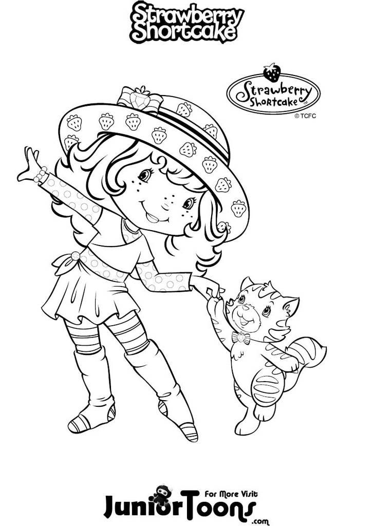 Coloring Pages Strawberry Shortcake Coloring Pages Coloring