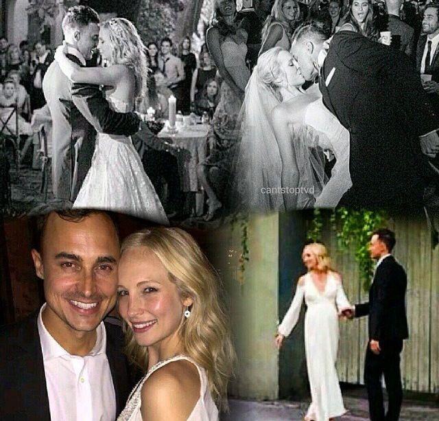 Congratulations Candice Wedding Of Candice Accola Joe King October 19 2014 Vampire Love Hollywood Couples Cute Couples