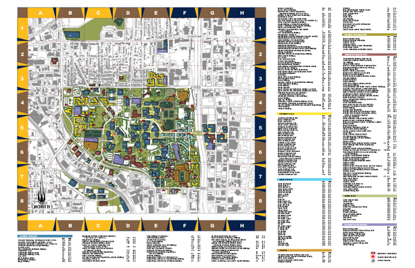 Ga Tech Campus Map Georgia Institute of Technology Map   Atlanta Georgia • mappery
