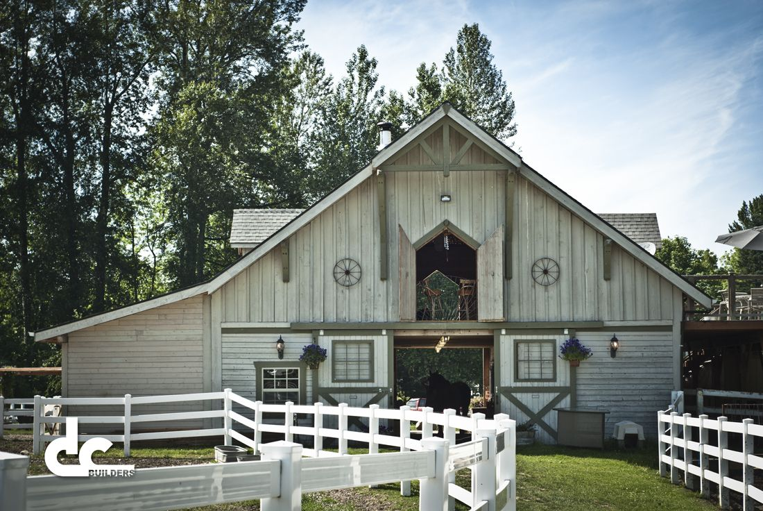 I\'m a big fan of new barns built to emulate the styles of older ...