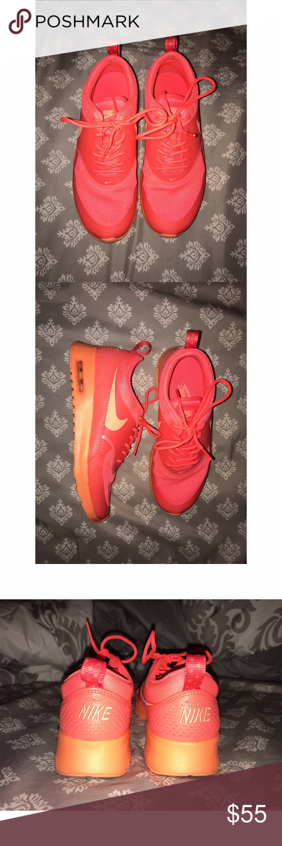 Nike Air Max Thea Wore only a few times! Great condition. Size 6.5 Nike Shoes Athletic Shoes
