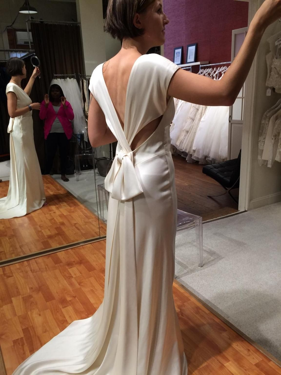Nicole Miller Cassandra Wedding Dress Sample Size 12 500