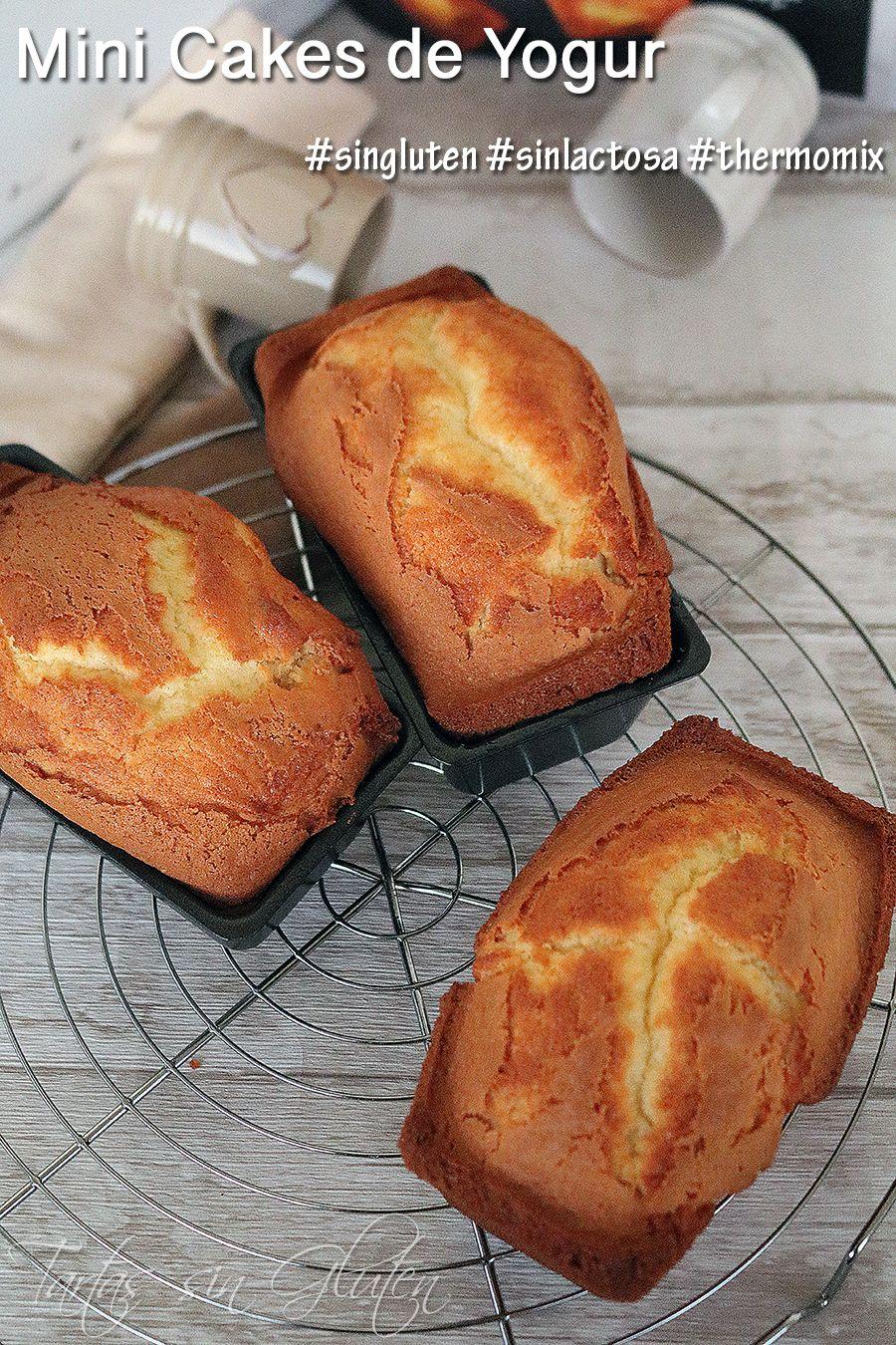Mini Cakes De Yogur Singluten Sinlactosa Thermomix Tartas Sin