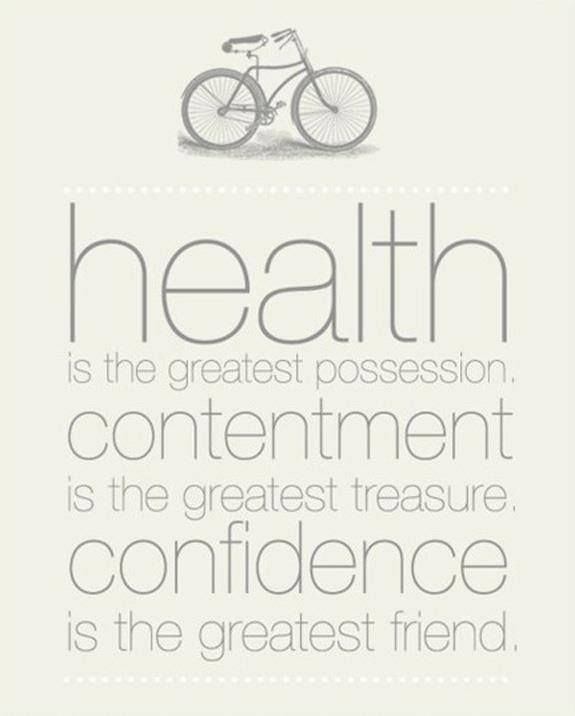 Health is the greatest possession. Contentment is the greatest treasure. Confidence is the greatest friend. #healthy #inspiration #quote