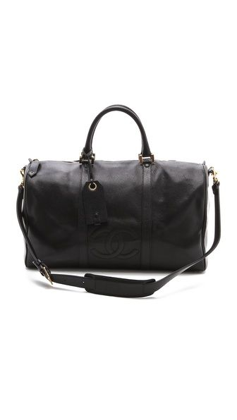 Vintage Chanel Large Boston Bag   Things I like   Pinterest 96b250d5a0e