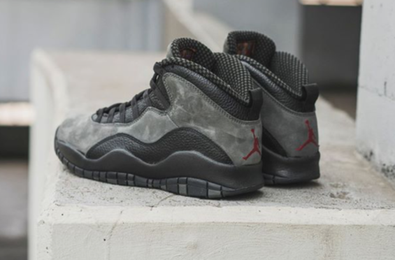 Get Ready For The Air Jordan 10 Dark Shadow (2018) This Air Jordan 10 Dark  Shadow 2018 is inspired by the original 1994 version, and the silhouette is  ...
