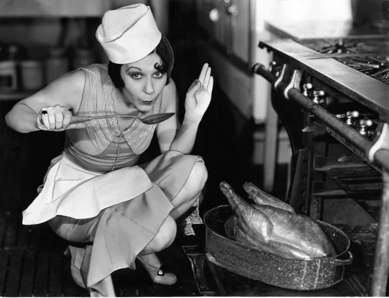 Vintage Hollywood Thanksgiving Pin Ups