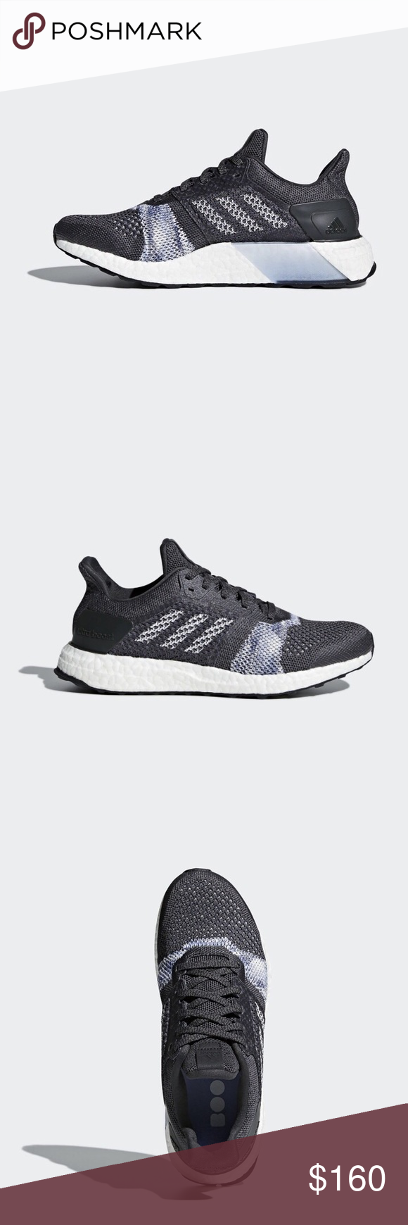434db36089e3a Adidas Ultra Boost ST w. Brand New. Grey and Blue Amazing colors on these ultra  boosts. Great running shoes. NWT. No box adidas Shoes Sneakers