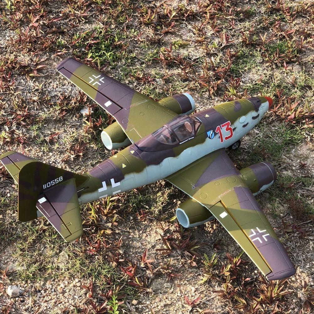 Dual 50mm EDF rc jet ME262 ME-262 airplane model EPO PNP Standard