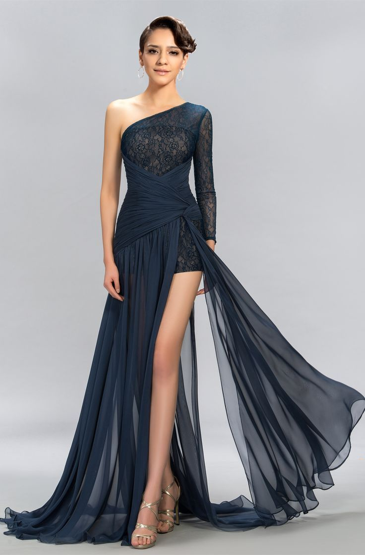 Sign In Long Sleeve Lace Evening Dress Evening Dresses Designer Dresses