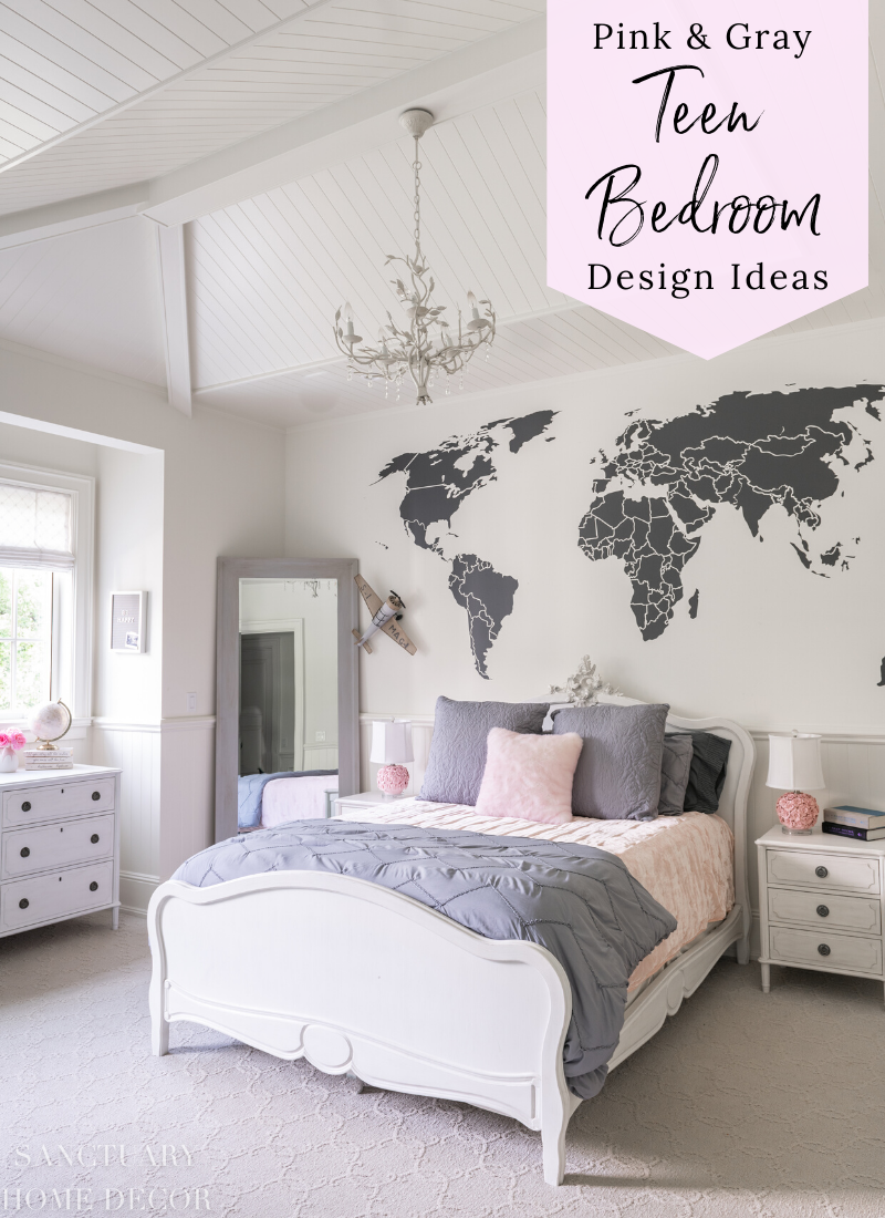 Pink And Grey Bedroom Ideas For Teenage Girls