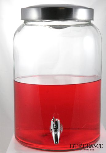 Drinks Glass Jar Drink Dispenser Large Glass Jars Drink Dispenser