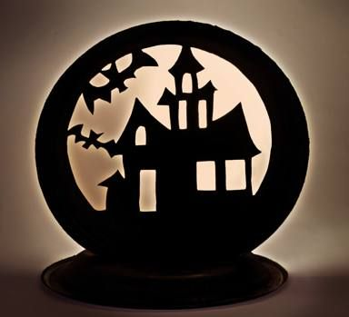 Cute Halloween craft ideas using Chinet plates and cups -   www - halloween craft decorations