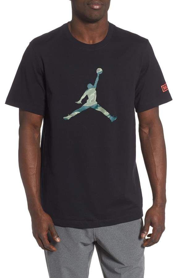 sneakers for cheap 7e9e3 bb5d9 Jordan Camo Jumpman T-Shirt