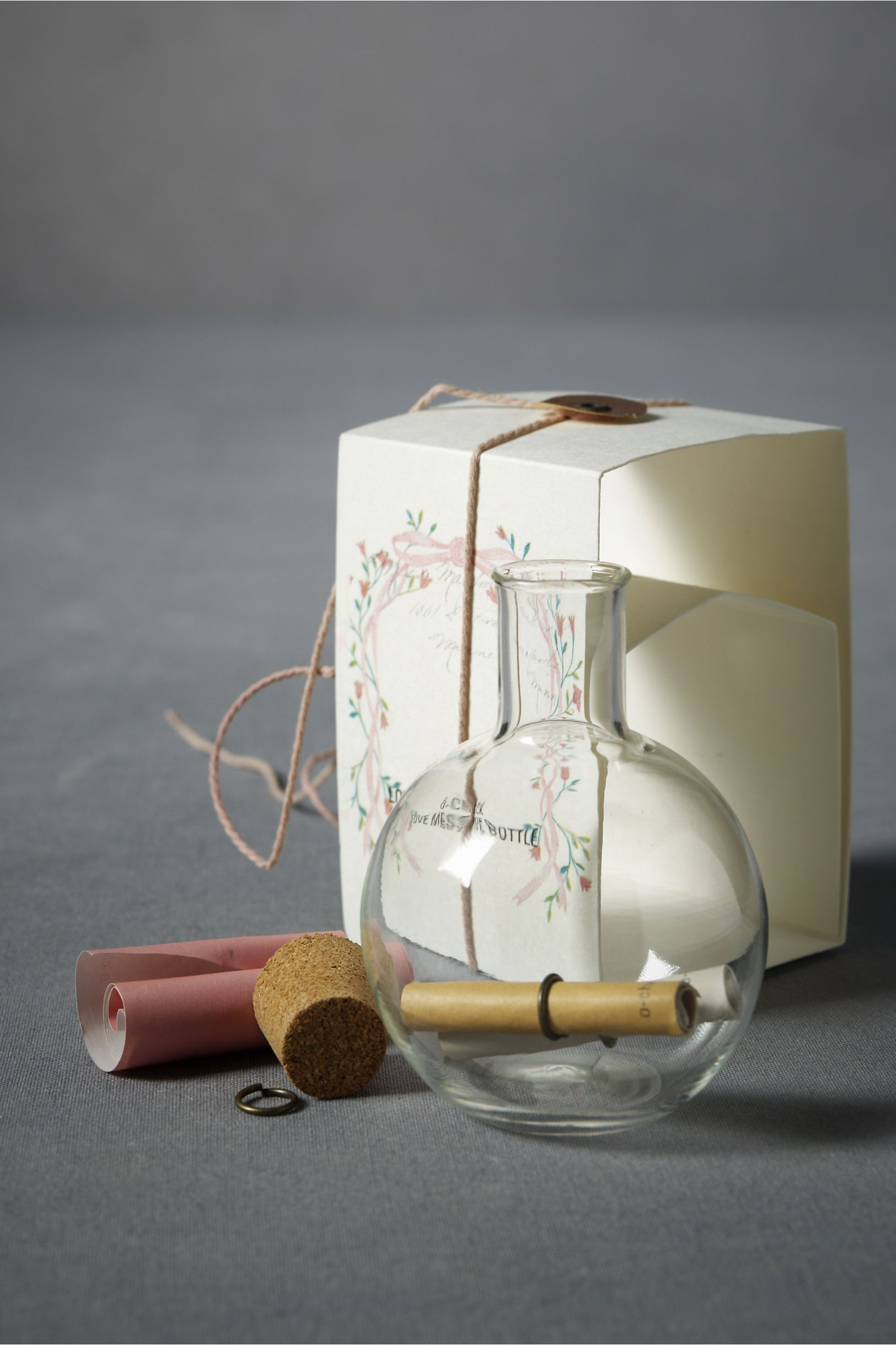 Message in a bottle as favors? With a small, family wedding these ...