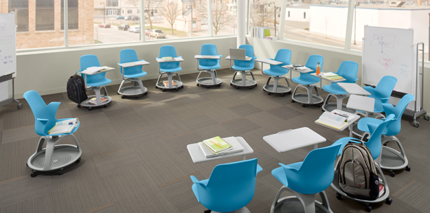 Modern Classroom Equipment : Node chair ideo i understand the flexibility of