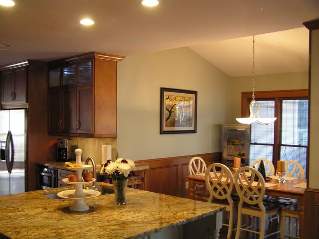 Favorite paint colors paint colors that go with wood for Neutral green paint colors for kitchen