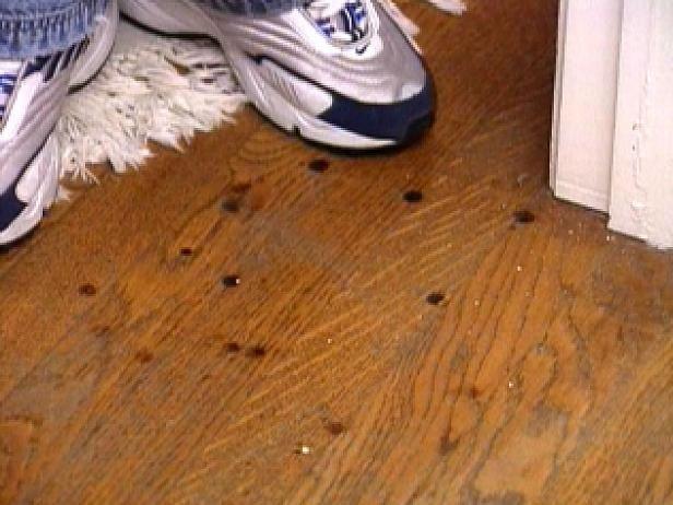 Remove Burn Marks On A Hardwood Floor