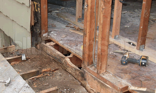 How To Replace A Rotted Rim Joist And Sill Plates Part 1 Of 4