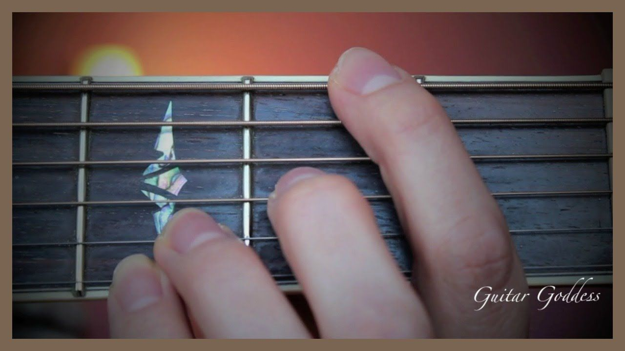 How To Df Chord On Guitar Guitar Pinterest Guitars