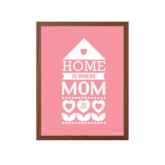 ▲ Home Is Where Mom Is
