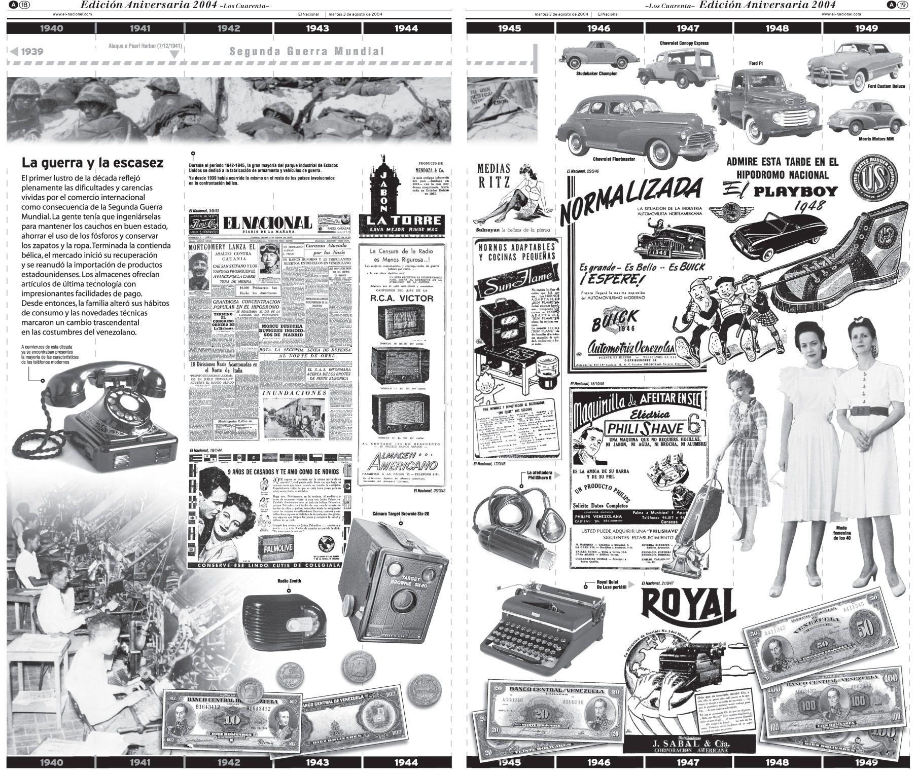Década de los 40. Edición Aniversaria 2004.