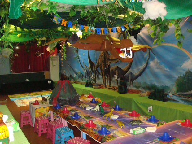 Heres some great dinosaur party ideas that will instantly transform