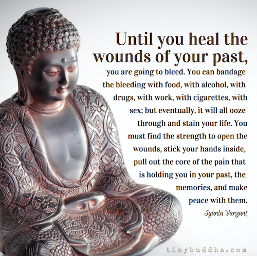 Until You Heal the Wounds of Your Past, They Are Going to Bleed