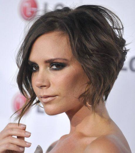 La coiffure de Victoria Beckham change régulièrement. Ici