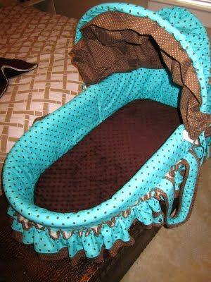 Recovered A Baby Bassinet Polka Dots Ashley Walters O