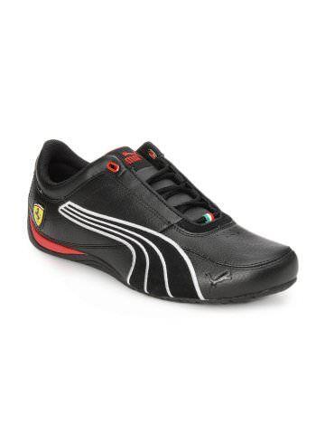 puma men black ferrari shoes  shoes puma mens casual shoes