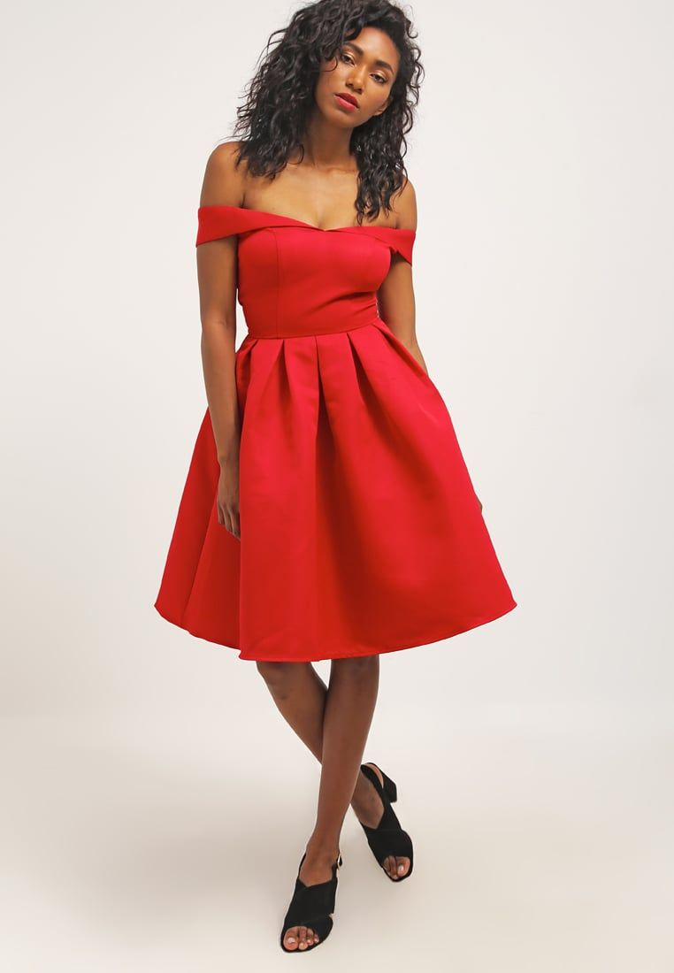 Chi Chi London JADE - Cocktail dress / Party dress - red Women ...