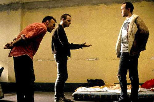 Danny Boyle with Ewan McGregor and Irvine Welsh - Trainspotting