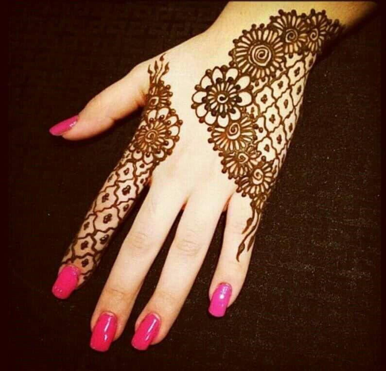 Hena design for Eid
