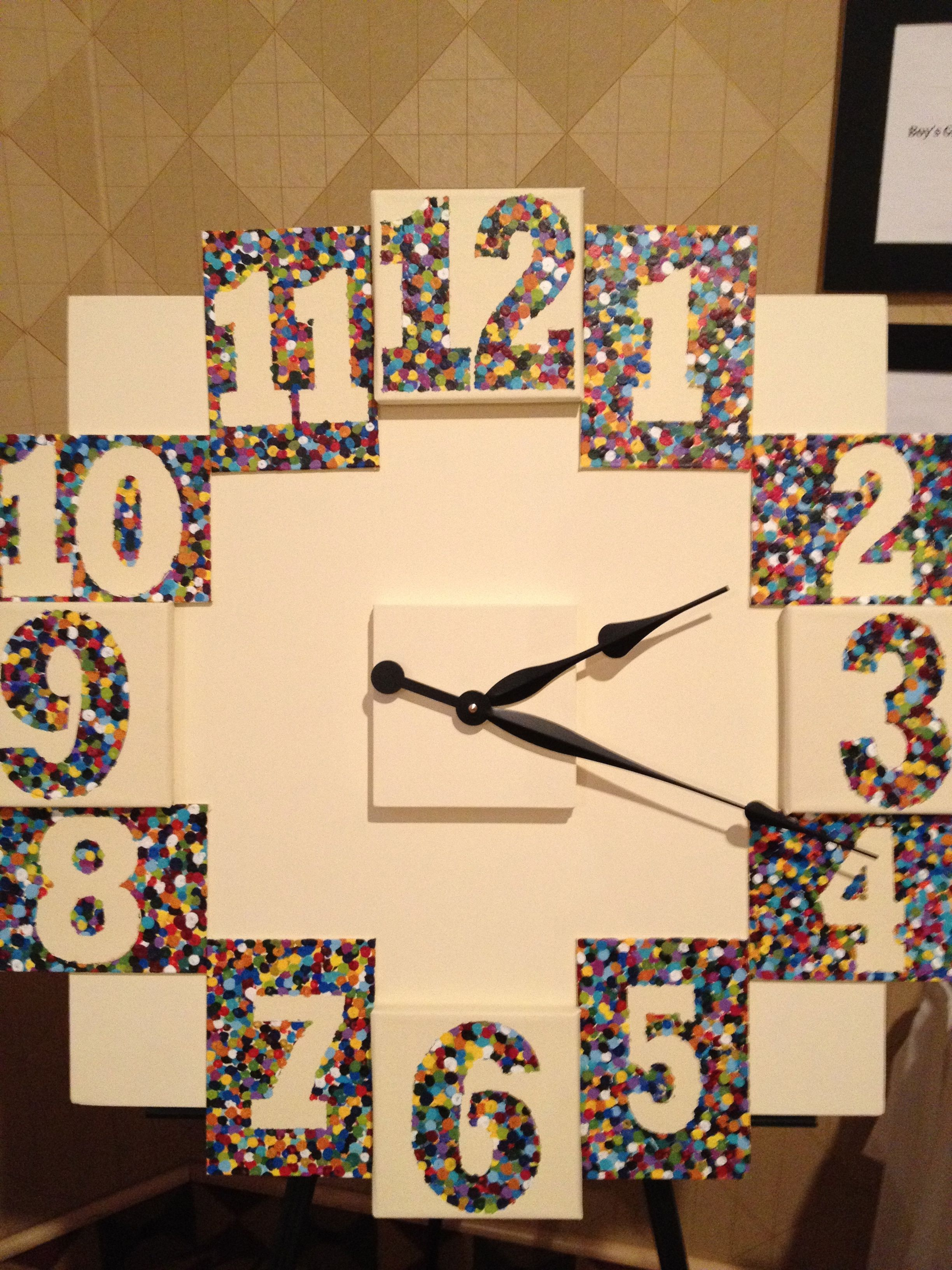 clock - awesome classroom project! simple, creative, functional, not