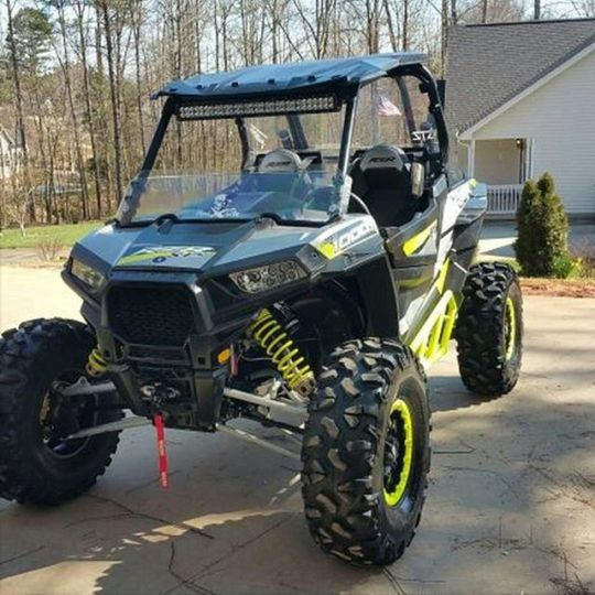 Light Bar Under Roof Rather Than On Top Rzr