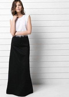 Jupe cloche longue - Femme   shopping   Jupe, Jupe cloche et Vetements a1b6ffc90fce