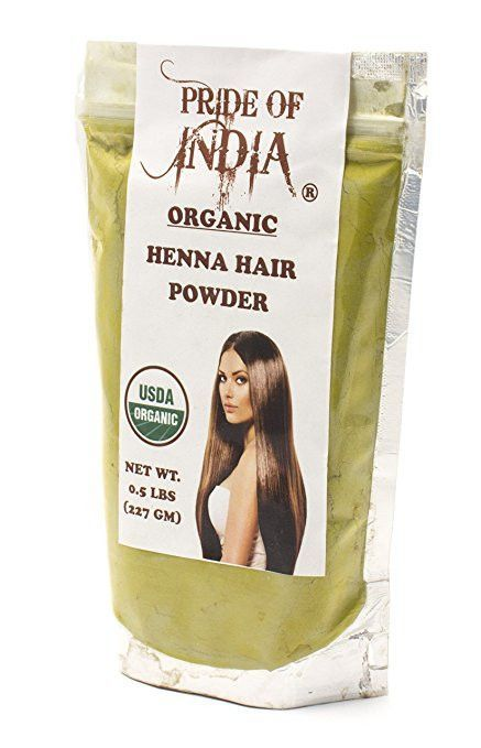 Organic Henna Hair Color Powder 100 Natural 6oz 170gm Jar