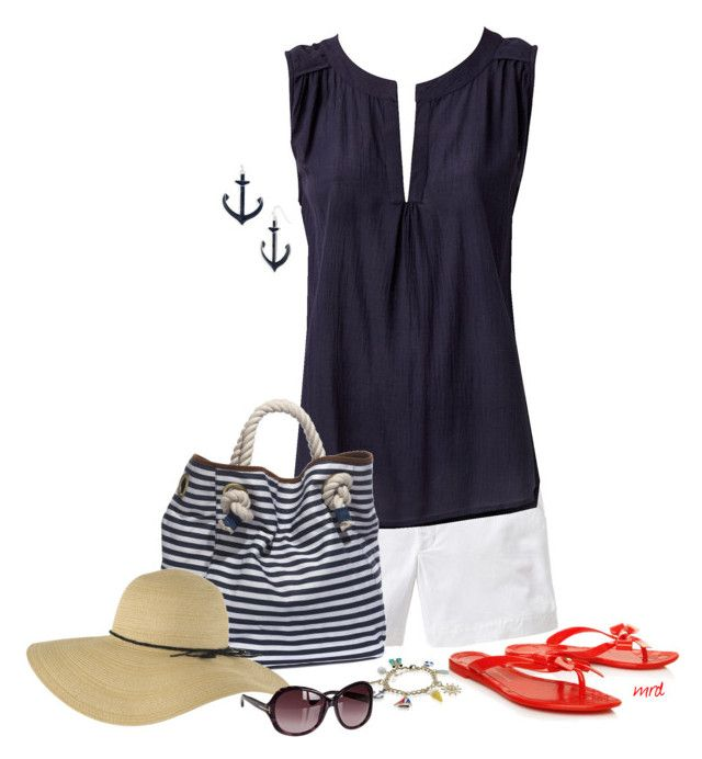 """""""Summer Days"""" by michelled2711 ❤ liked on Polyvore featuring Old Navy, Spring Street, Street Level, Forever 21, KG Kurt Geiger and Tom Ford"""