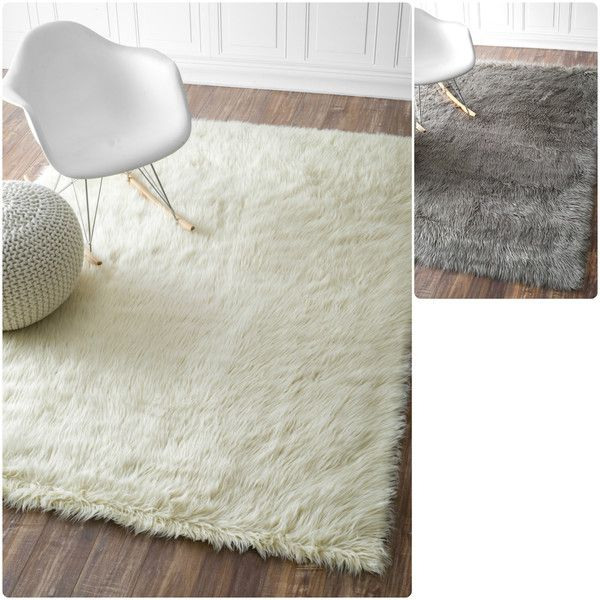 Nuloom Faux Flokati Sheepskin Solid Soft And Plush Cloud Rug X Ping Great Deals On Rugs
