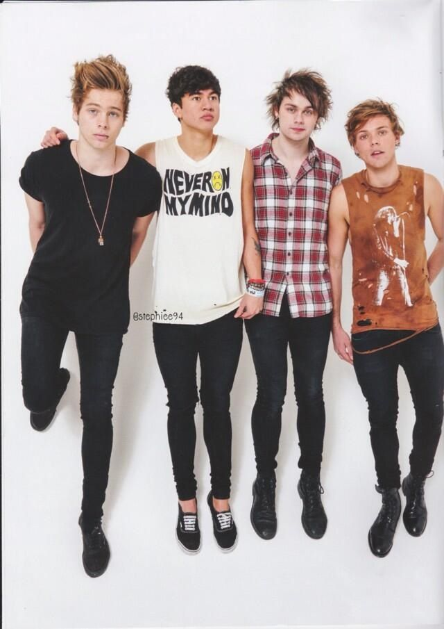 5 Seconds Of Summer For Rolling Stones Magazine