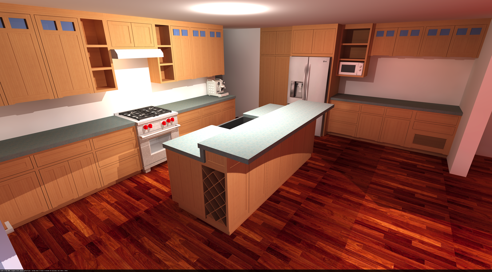 Kitchen Layout In Sketchup Follow Along On This Kitchen S Progress At Corbin S Treehouse Kitchen Layout Kitchen Cabinets Kitchen