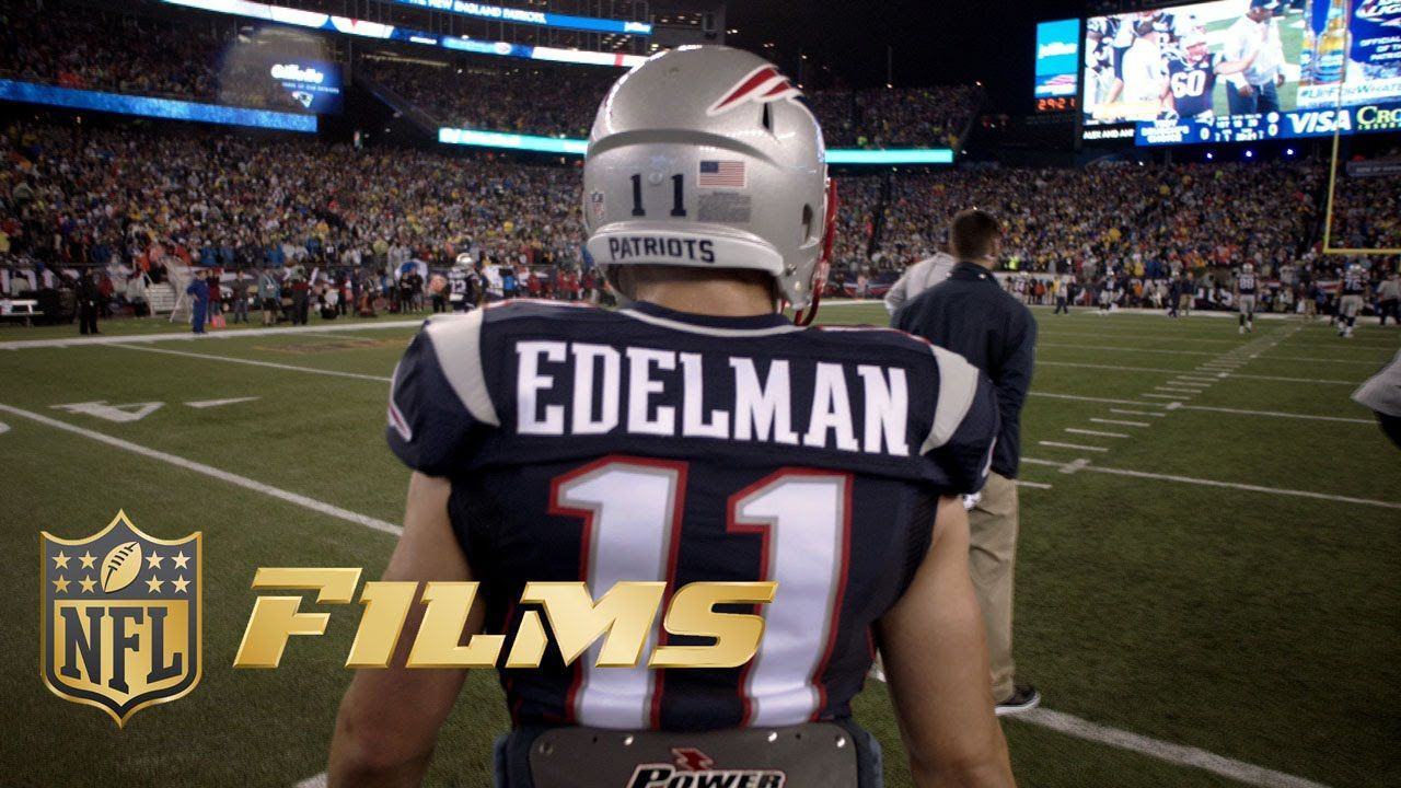 How Julian Edelman Transitioned From College Qb To Tom Brady S Favorite Wr Nfl Films Presents Julian Edelman Edelman Julian